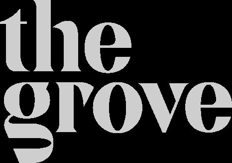 The Grove logo grey