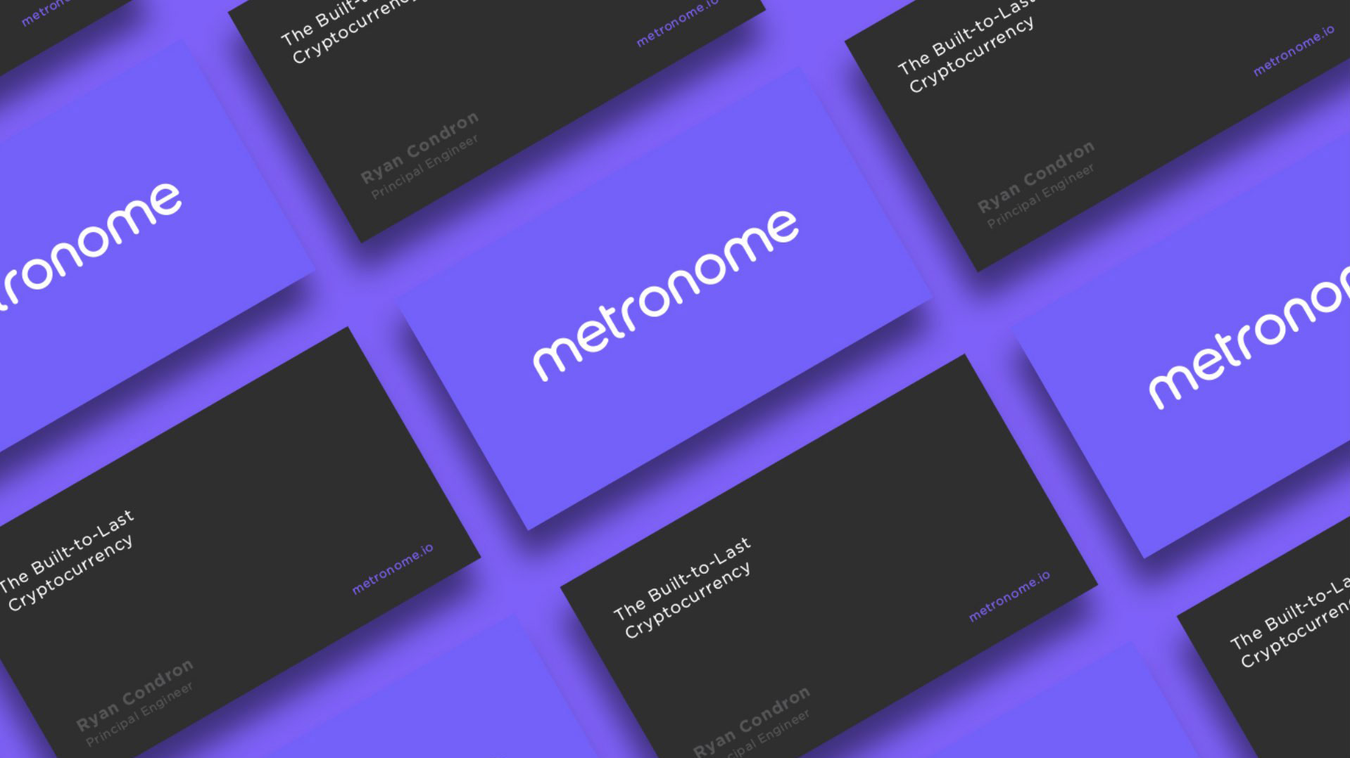 Metronome business cards